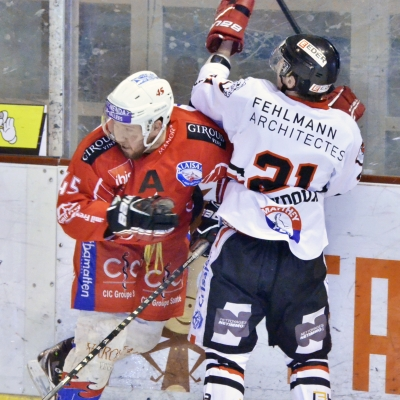 1ère ligue - gr. 3 : Forward Morges HC - HC Sion-Nendaz 4 Vallées le 17/03/2015 (par Patrick Pitton)