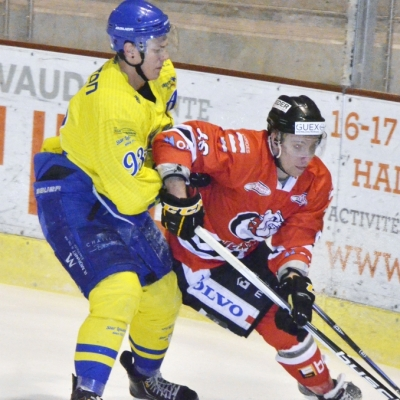 1ère ligue - gr. 3 : Forward Morges HC - Star Lausanne HC le 13/12/2014 (par Photo PH)