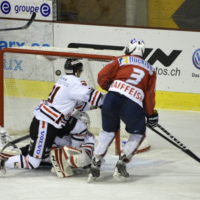 1ère ligue - gr. 3 : HC Uni Neuchâtel - Forward Morges HC le 17/10/2015 (par HJ Gross)