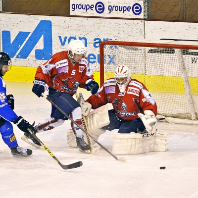 1ère ligue - gr. 3 : HC Université Neuchâtel - HC Moutier le 27/01/2016 (par HJ Gross)