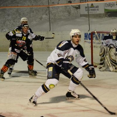 1�re ligue - gr. 3 : EHC Saastal - Villars HC le 07/01/2012