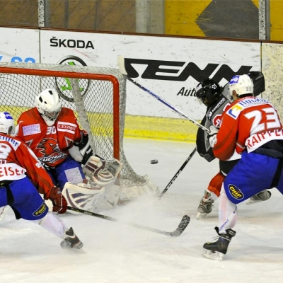 1�re ligue - gr. 3 : HC Uni Neuch�tel - HC Red Ice le 14/01/2012