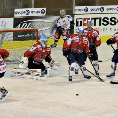 1�re ligue - gr. 3 : HC Uni Neuch�tel - HC Sion le 06/10/2012