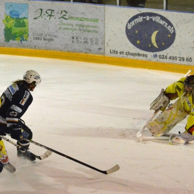 1�re ligue - gr. 3 : Villars HC - HC Franches-Montagnes le 11/02/2012