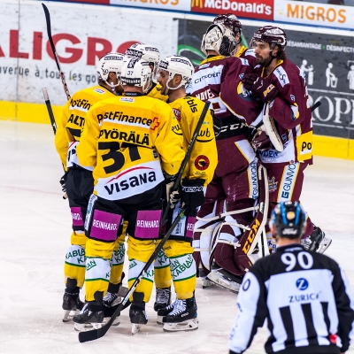 National League : Genève-Servette HC - CP Berne le 03/03/2018 (par Laurent Daspres)