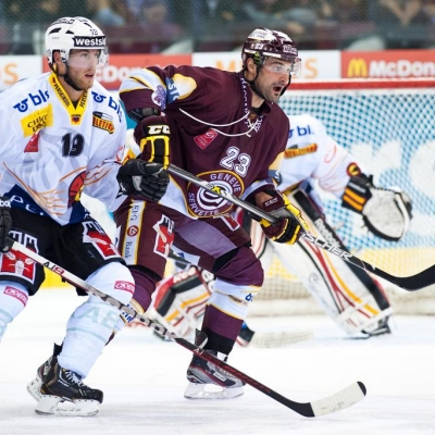 National League : Genève-Servette HC - CP Berne le 14/09/2012 (par Laurent Daspres)