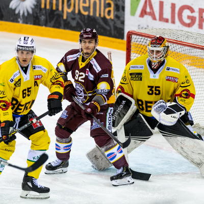 National League : Genève-Servette HC - CP Berne le 27/10/2020 (par Laurent Daspres)