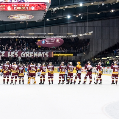 National League : Genève-Servette HC - EV Zoug le 07/03/2017 (par Laurent Daspres)