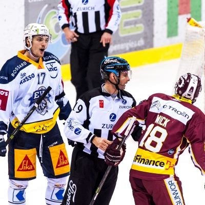 National League : Genève-Servette HC - EV Zoug le 16/11/2017 (par Laurent Daspres)