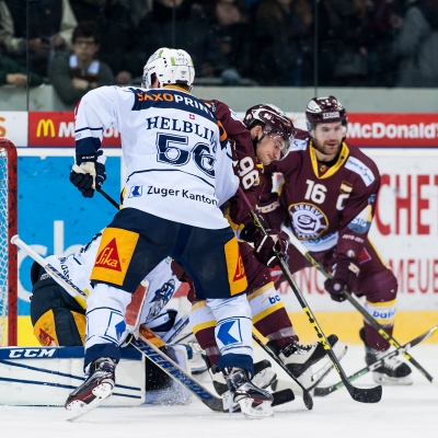 National League : Genève-Servette HC - EV Zoug le 20/12/2016 (par Laurent Daspres)