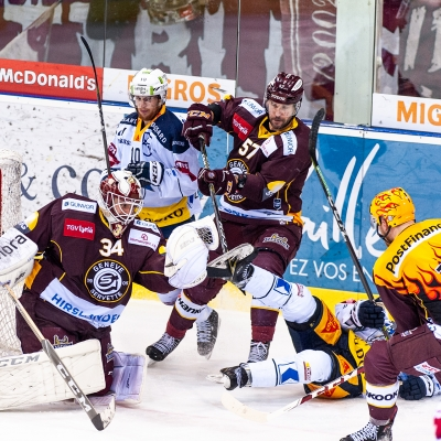 National League : Genève-Servette HC - EV Zoug le 21/12/2018 (par Laurent Daspres)