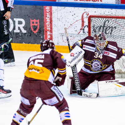 National League : Genève-Servette HC - EV Zoug le 23/02/2021 (par Laurent Daspres)