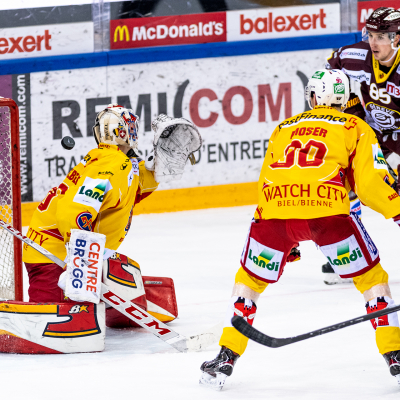 National League : Genève-Servette HC - HC Bienne le 03/04/2021 (par Laurent Daspres)