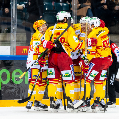 National League : Genève-Servette HC - HC Bienne le 06/12/2019 (par Laurent Daspres)