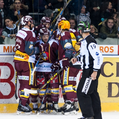 National League : Genève-Servette HC - HC Bienne le 09/12/2016 (par Laurent Daspres)
