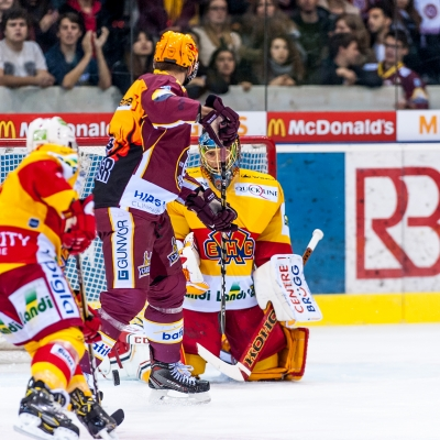 National League : Genève-Servette HC - HC Bienne le 24/10/2017 (par Laurent Daspres)
