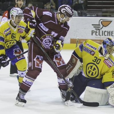 National League : Genève-Servette HC - HC Davos le 03/10/2014 (par  )