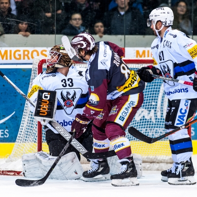 National League : Genève-Servette HC - HC Fribourg-Gottéron le 07/12/2017 (par Laurent Daspres)