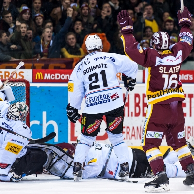 National League : Genève-Servette HC - HC Fribourg-Gottéron le 13/01/2017 (par Laurent Daspres)