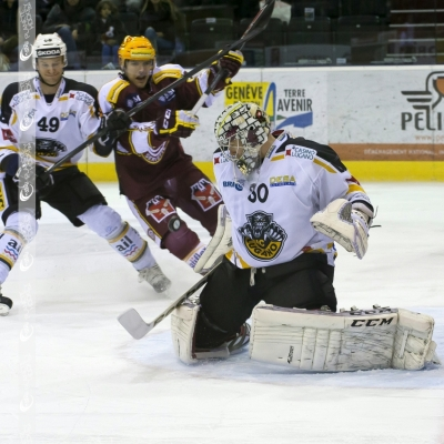National League : Genève-Servette HC - HC Lugano le 24/01/2014 (par  )