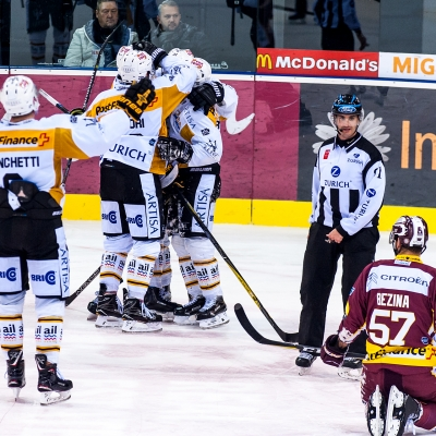 National League : Genève-Servette HC - HC Lugano le 30/11/2017 (par Laurent Daspres)