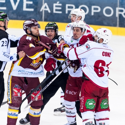 National League : Genève-Servette HC - Lausanne HC le 18/02/2017 (par Laurent Daspres)