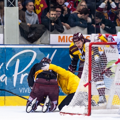 National League : Genève-Servette HC - SC Rapperswil-Jona Lakers le 01/12/2018 (par Laurent Daspres)