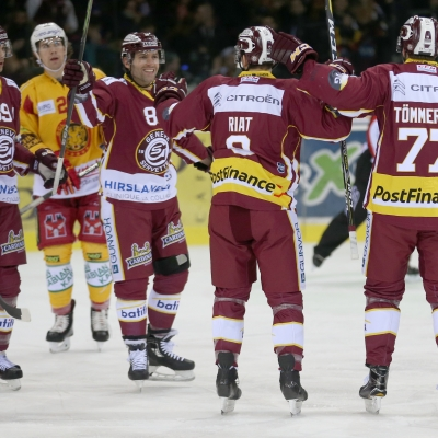 National League : Genève-Servette HC - SCL Tigers le 02/01/2018 (par Peter Eggimann)