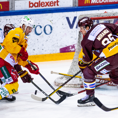 National League : Genève-Servette HC - SCL Tigers le 03/02/2021 (par Laurent Daspres)