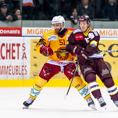National League : Genève-Servette HC - SCL Tigers le 08/02/2019 (par Laurent Daspres)