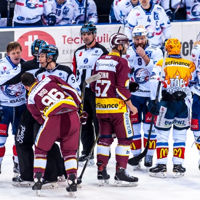 National League : Genève-Servette HC - ZSC Lions (par Laurent Daspres)