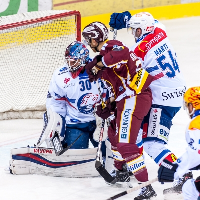 National League : Genève-Servette HC - ZSC Lions le 01/02/2018 (par Laurent Daspres)