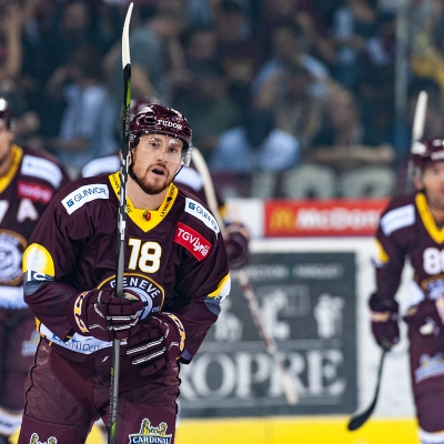 National League : Genève-Servette HC - ZSC Lions le 28/09/2018 (par Laurent Daspres)