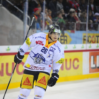 National League : HC Bienne - EV Zoug le 13/10/2015 (par Hervé Chavaillaz)
