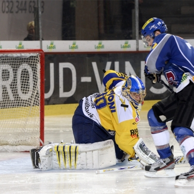 National League : HC Bienne - HC Davos le 06/10/2012 (par  )