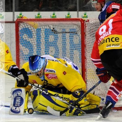 National League : HC Bienne - HC Davos le 26/10/2010 (par  )