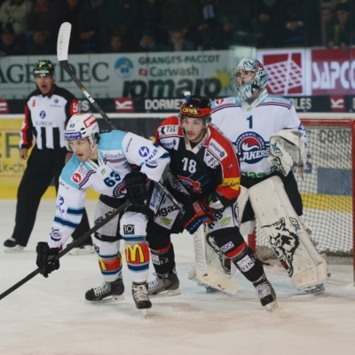 National League : HC Fribourg-Gottéron - SC Rapperswil-Jona Lakers le 18/11/2014 (par Michael Lehner)