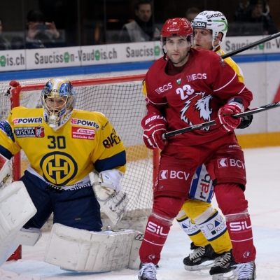 National League : Lausanne HC - HC Davos le 25/11/2014 (par Carlos Wunderlin)