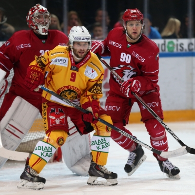 National League : Lausanne HC - SCL Tigers le 12/12/2015 (par Peter Eggimann)