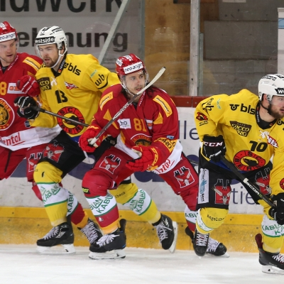 National League : SCL Tigers - CP Berne le 07/01/2018 (par Peter Eggimann)