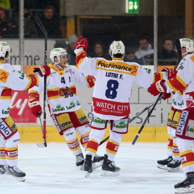 National League : SCL Tigers - HC Bienne le 19/12/2017 (par Peter Eggimann)