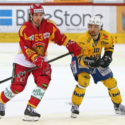 National League : SCL Tigers - HC Davos le 01/02/2018 (par Peter Eggimann)