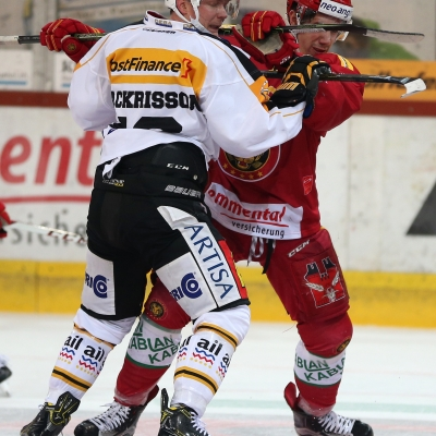 National League : SCL Tigers - HC Lugano le 25/11/2016 (par Peter Eggimann)