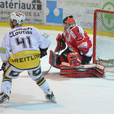NL B : HC Red Ice - HC Ajoie le 16/02/2014