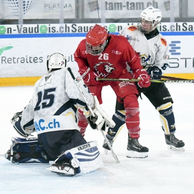 Novices Elite: Lausanne 4C - HC La Chaux-de-Fonds (30.09.2017) (par Patrick Pitton)