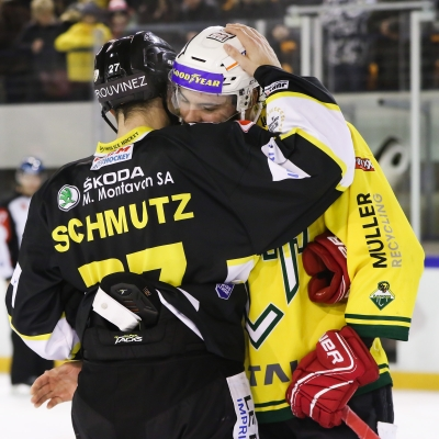 Swiss League : HC Ajoie - HC Thurgovie le 30/12/2018 (par Mauricette Schnider)