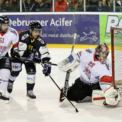 Swiss League : HC Ajoie - Martigny Red Ice HC le 19/02/2017 (par Mauricette Schnider)