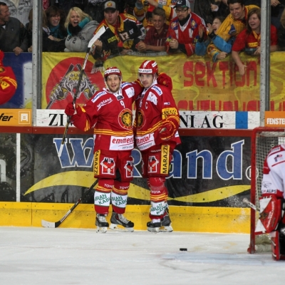 Swiss League : SCL Tigers - Martigny Red Ice HC le 08/10/2013 (par Peter Eggimann)