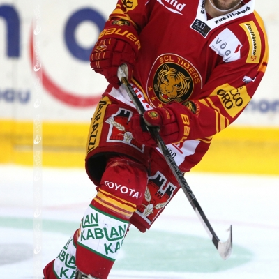 Swiss League : SCL Tigers - SC Langenthal le 18/01/2014 (par Peter Eggimann)